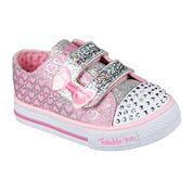 Skechers® Shuffles Girls Glitter Pop Sneakers - Toddler