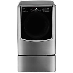 LG ENERGY STAR® 9.0 cu. Ft. Ultra Large High-Efficiency Gas SteamDryer™ with SteamSanitary™ Turbo Steam