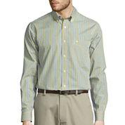 Dockers® Signature Long-Sleeve Mini-Check Woven Shirt