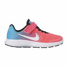 Nike Revolution 3 Girls Running Shoes - Little Kids