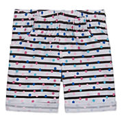 Okie Dokie French Terry Bermuda Shorts - Toddler Girls