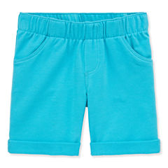 Okie Dokie French Terry Bermuda Shorts - Toddler Girls