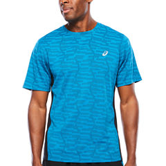 Asics Short Sleeve Crew Neck T-Shirt