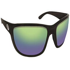 Flying Fisherman Cay Sal Black Amber Green MirrorSunglasses