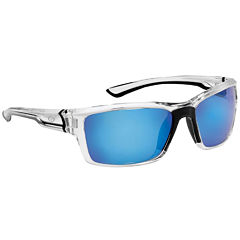 Flying Fisherman Cove Crystal withSmoke Blue Mirror Sunglasses