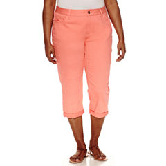 Plus Size Orange Capris & Crops for Women - JCPenney