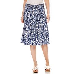 St. John's Bay Short Knit Skirt