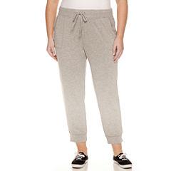 Liz Claiborne® Slim-Fit Jogger Pants - Plus