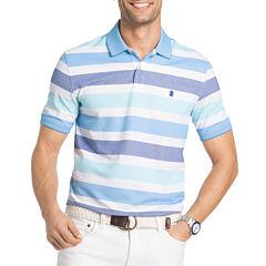 IZOD Advantage Performance Short Sleeve Stripe Polo