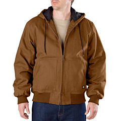 Dickies® Heavy-Duty Sanded Duck Hooded Jacket