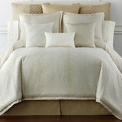 Liz Claiborne® Livingston Leopard Jacquard 4-pc. Comforter Set