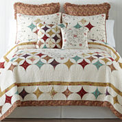 Home Expressions™ Laura Quilt and Accessories