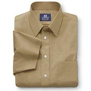 Stafford® Travel Short-Sleeve Easy-Care Broadcloth Shirt–Big & Tall
