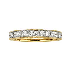 1/2 CT. T.W. Certified Diamond 14K Yellow Gold Wedding Band