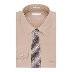 Van Heusen® No-Iron Lux Sateen Dress Shirt