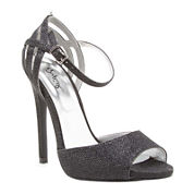 Qupid Glee Ankle-Strap Pumps