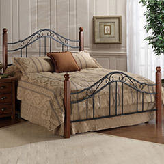 tatum metal bed or headboard - Metal Bed Frame With Headboard