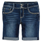 Vanilla Star® Bermuda Shorts - Girls 7-16 and Plus