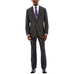 Claiborne® Charcoal Herringbone Suit Separates - Classic Fit