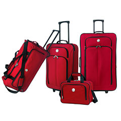 Travelers Club 4pc 4-pc. Luggage Set
