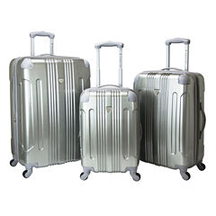 Travelers Club Polaris 3-pc. Luggage Set