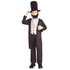 Abraham Lincoln Child Costume 3-pc. Dress Up Costume Boys