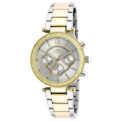 Invicta Womens Gold Tone Bracelet Watch-20470