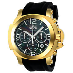 Invicta Coalition Forces Mens Black Strap Watch-22277