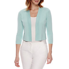 St. John's Bay 3/4 Sleeve Shrug