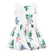 Carter's Short Sleeve Babydoll Dress - Preschool