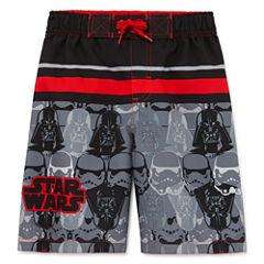 Boys Star Wars Swim Trunks-Preschool
