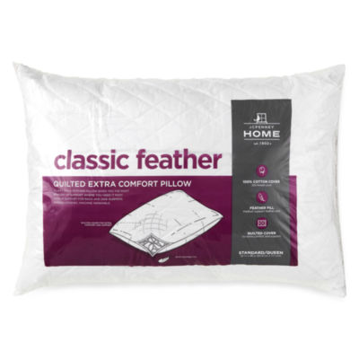 jcpenney home classic feather pillow