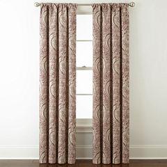 Royal Velvet Florence Room Darkening Rod-Pocket Back-Tab Curtain Panel