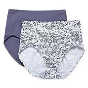 Bali® Shapewear 2-pk. Cool Comfort® Modern Cotton Briefs Light Control - X864
