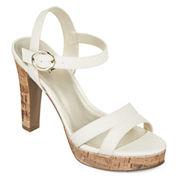 a.n.a® Lucas Platform Sandals