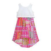 Youngland® Sleeveless Lace Pop-Over Sundress - Preschool Girls 4-6x