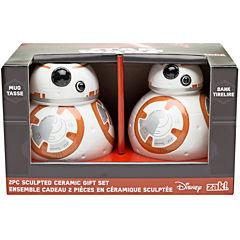 Disney Star Wars® BB-8 Sculpted Bank and Mug Set