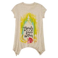 Disney Beauty and the Beast Graphic T-Shirt-Big Kid Girls