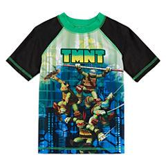 Boys Teenage Mutant Ninja Turtles Rash Guard-Preschool
