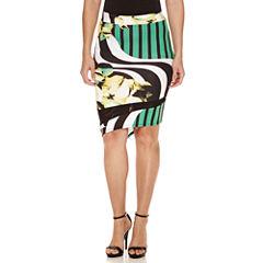 Bisou Bisou Mesh Assymetrical Skirt