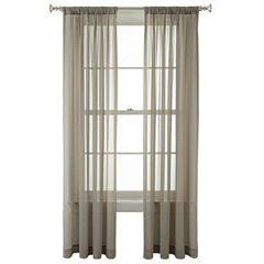 Royal Velvet® Lantana Rod-Pocket Sheer Panel