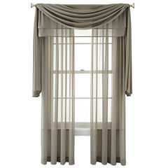 Royal Velvet® Lantana Rod-Pocket Sheer Window Treatments