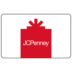$10 JCP Red Gift Card