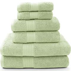 Pacific Coast Textiles™ Luxury Spa 6-pc. Solid Bath Towel Set