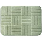 Parquet Memory Foam Nature Print Bath Rug