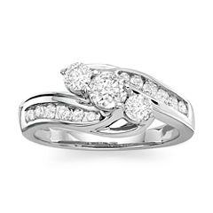 Love Lives Forever™ 1 CT. T.W. Diamond 10K White Gold Ring