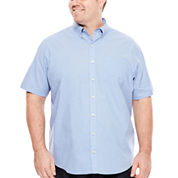 Van Heusen® Short-Sleeve Easy-Care Woven Shirt - Big & Tall