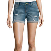 Arizona Midi Denim Shorts