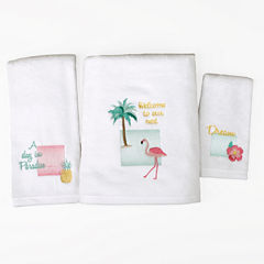 Saturday Knight Flamingo Bath Towel Collection
