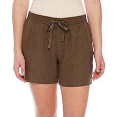 St. John's Bay Pull-On Shorts